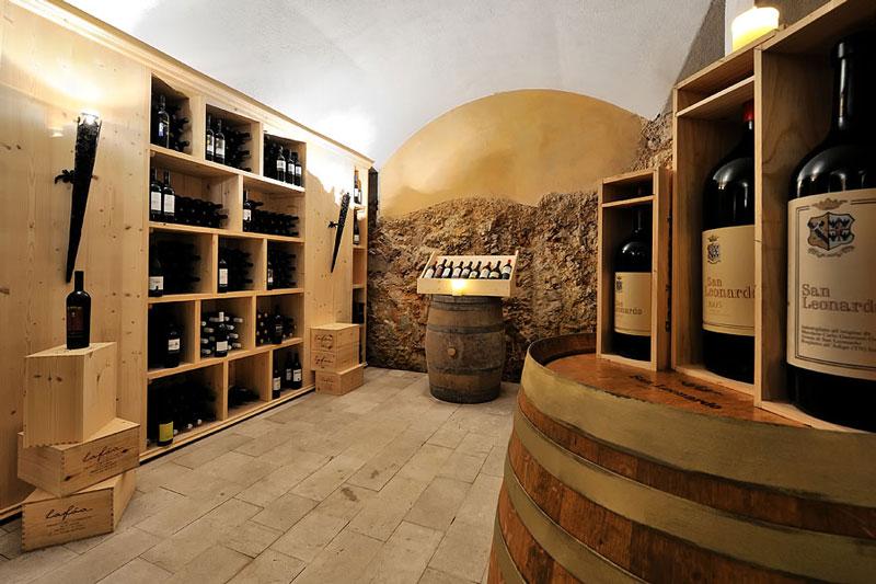 Hauseigener Weinkeller